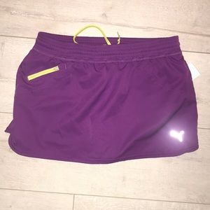 "Puma ""cool cell"" purple skort tennis medium short"